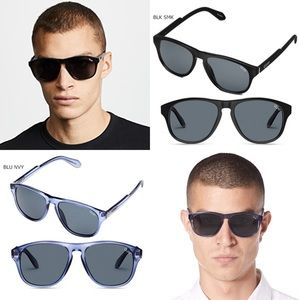 44967ef4d5 Quay Lost Weekend Sunglasses (Blue or Black)